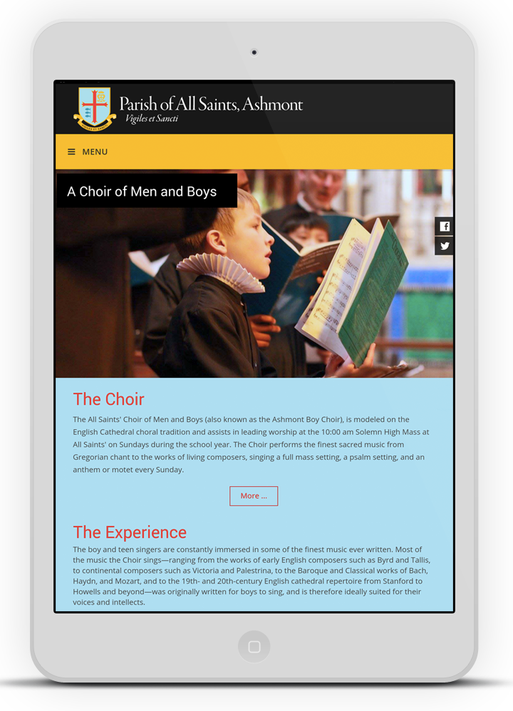 Choirpage-on-ipad