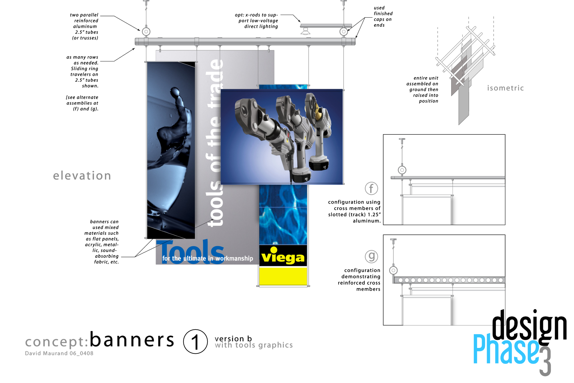 Extensible Overhead Banner System