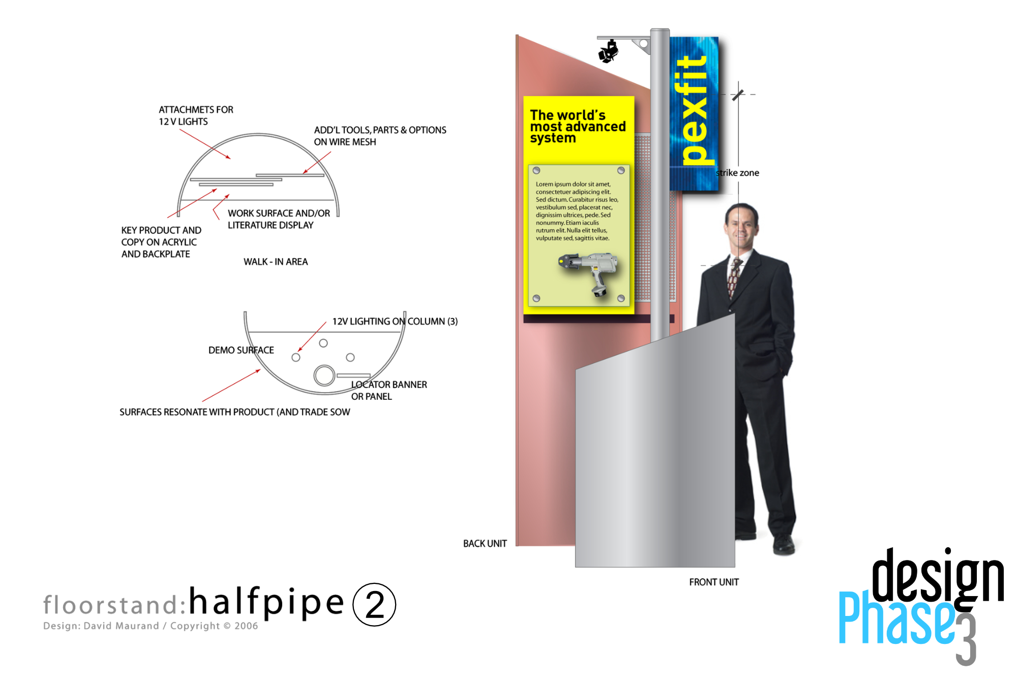 Mini Trade Show or Retail Stand