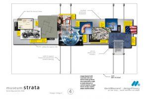 'Strata' Corporate Museum Concept