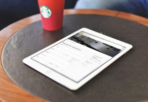 RFP Page on iPad